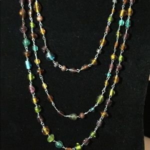Jewelry - Glass beaded necklace